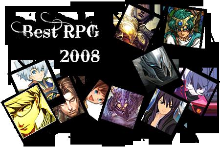 Best RPG 2008